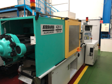 Formplast GmbH used Injection moulding machines, Extruder, 3